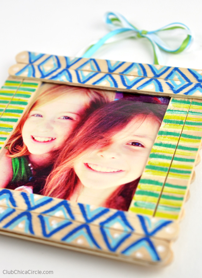 Tween Decorated Homemade Frame