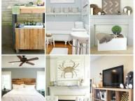 Rustic Home Decor Ideas #MondayFundayParty