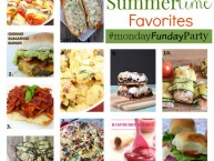 summertime-favorite-recipes #mondayfundayparty