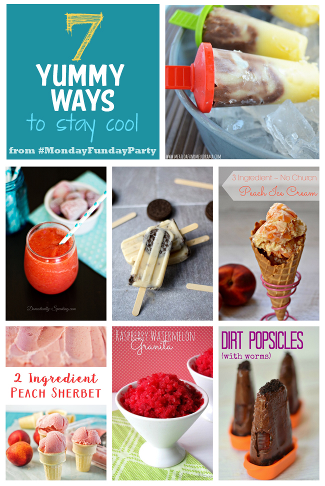 7 Yummy Dessert Ideas #MondayFundayParty