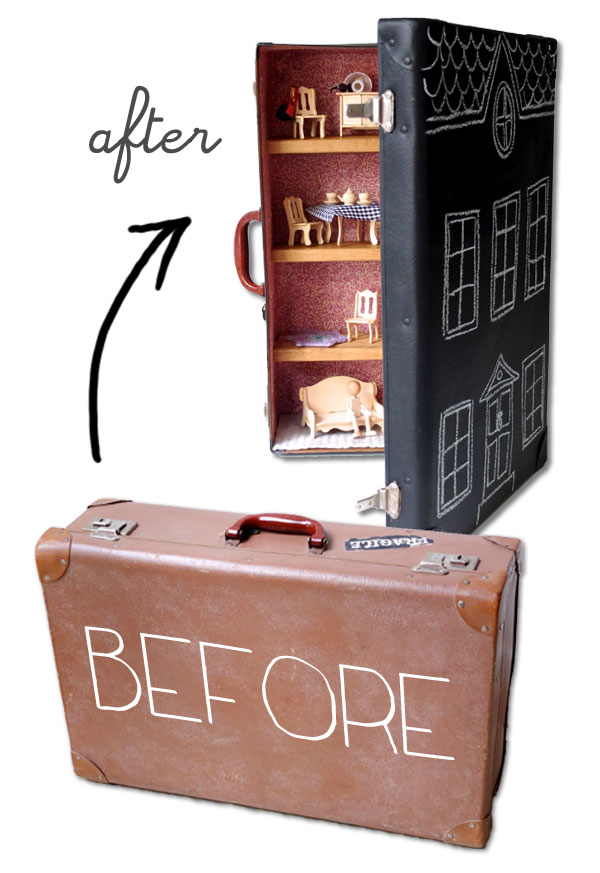 classic diy repurposed furniture pictures 2015 diy. Suitcase Turned Dollhouse Classic Diy Repurposed Furniture Pictures 2015 T