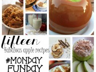 Apple recipes roundup #mondayfundayparty