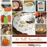 10-Fall-favorite ideas #MondayFundayParty