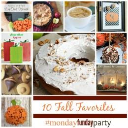 10-Fall-favorite ideas #MondayFundayParty