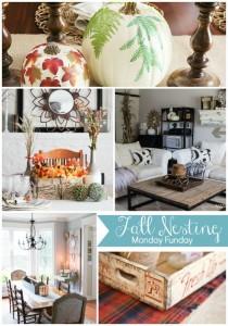 Fall-Home Decor Ideas #MondayFundayParty