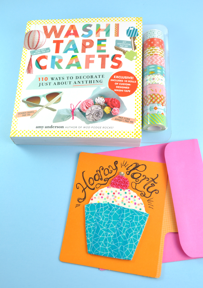 Washi tape crafts book giveaway for Crafts with washi tape