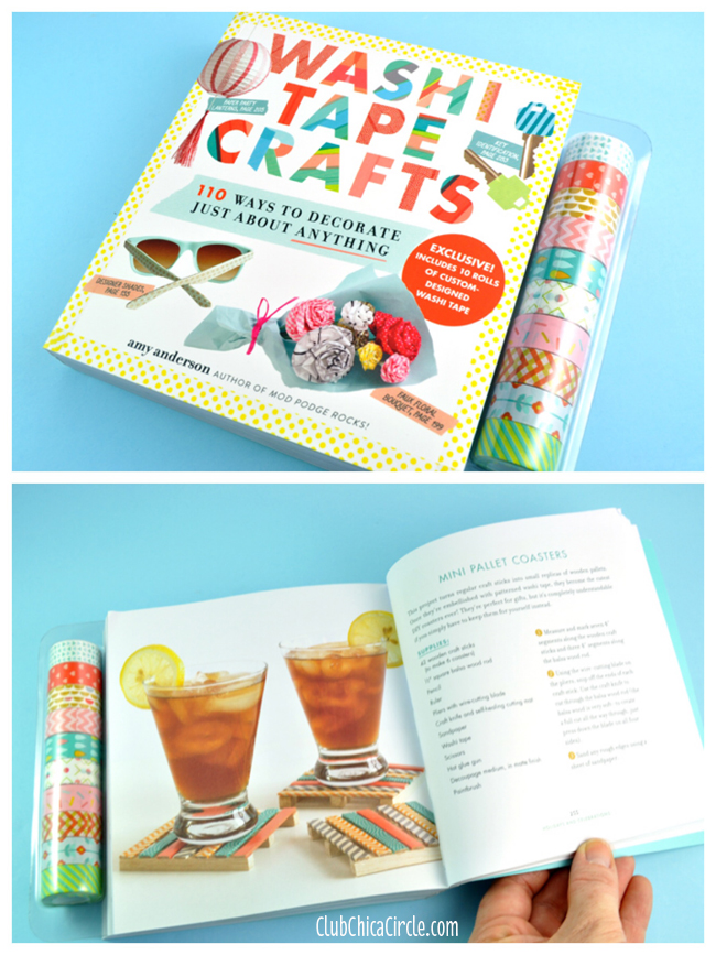 Washi tape craft book by amy anderson