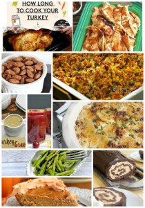 Thanksgiving-Dinner Recipe Ideas #mondayfundayparty