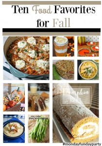 ten-Food-Favorites-for-Fall #mondayfundayparty