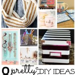 8 Pretty DIY projects #mondayfundayparty