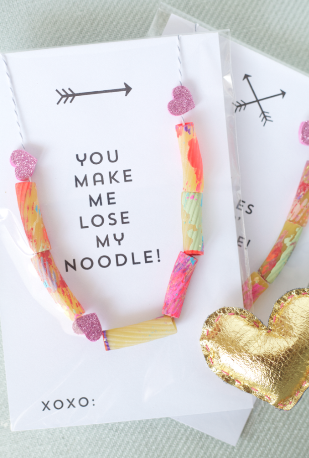 Noodle necklaces