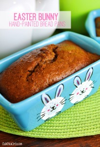 Easter Bunny homemade gift and craft idea - so cute