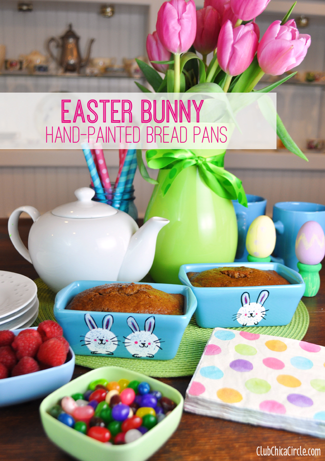 Setting your sunday easter brunch table craft idea @chicacircle