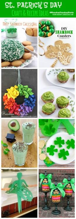 St. Patrick's Day Roundup #MondayFundayParty