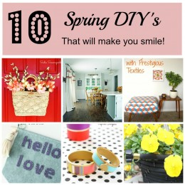 10-Spring-DIYs-That-Will-Make-You-Smile #MondayFundayParty