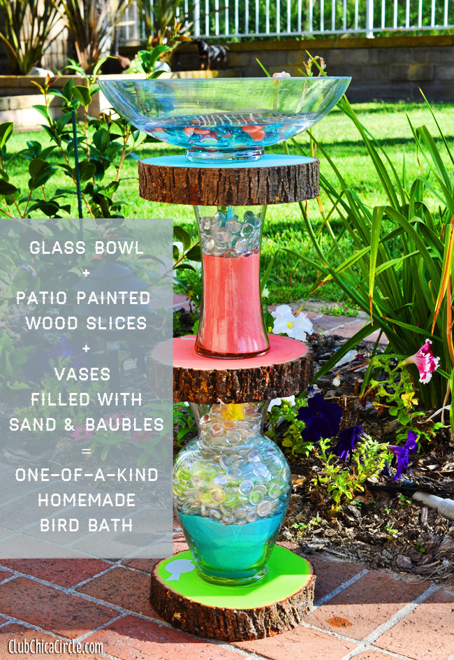 How to make a homemade Bird Bath