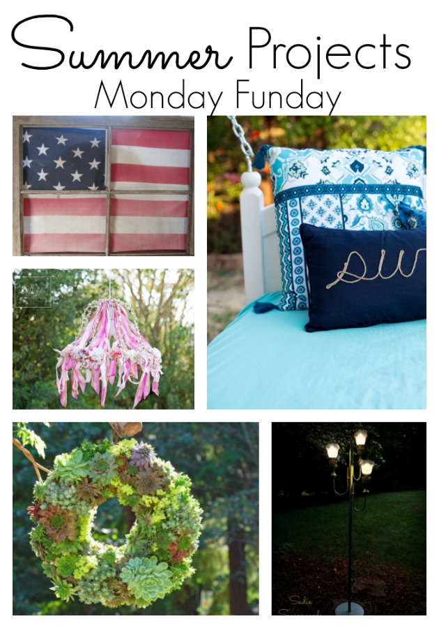 Summer DIY Project ideas #mondayfundayparty
