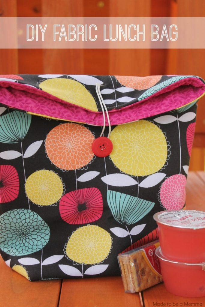 Fun Crafty Lunch Bag