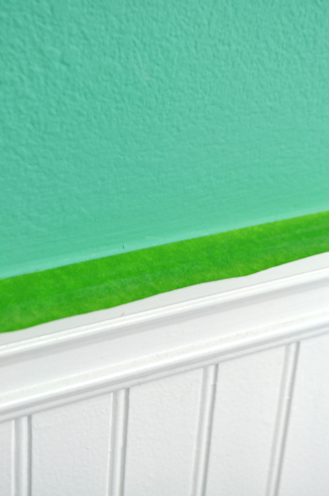 Teen room decor with frogtape for Painting lines on walls