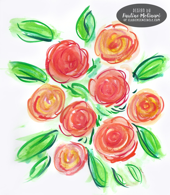 bouquet-of-pretty-painted-roses-with-crayons-and-makers