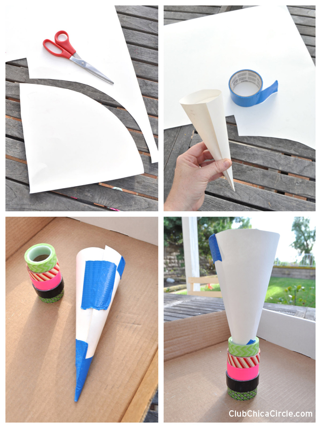 how-to-make-a-paper-cone-template-for-tree-shaped-homemade-chalk