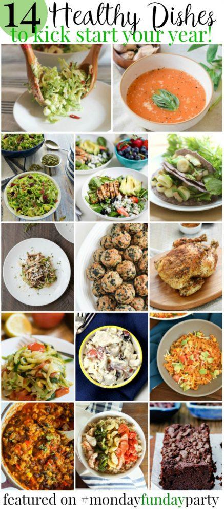 14 Healthy Recipe Ideas #MondayFundayParty