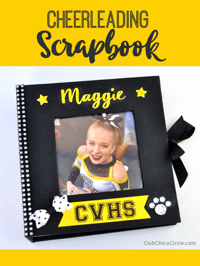Cheer Scrapbook Design for Teen @clubchicacircle