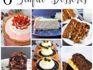 6-simply sinful-dessert recipe ideas #MondayFundayParty