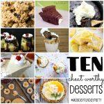10 Decadent Dessert Recipe Ideas