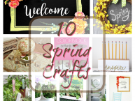 10-spring-craft ideas for fun home decor