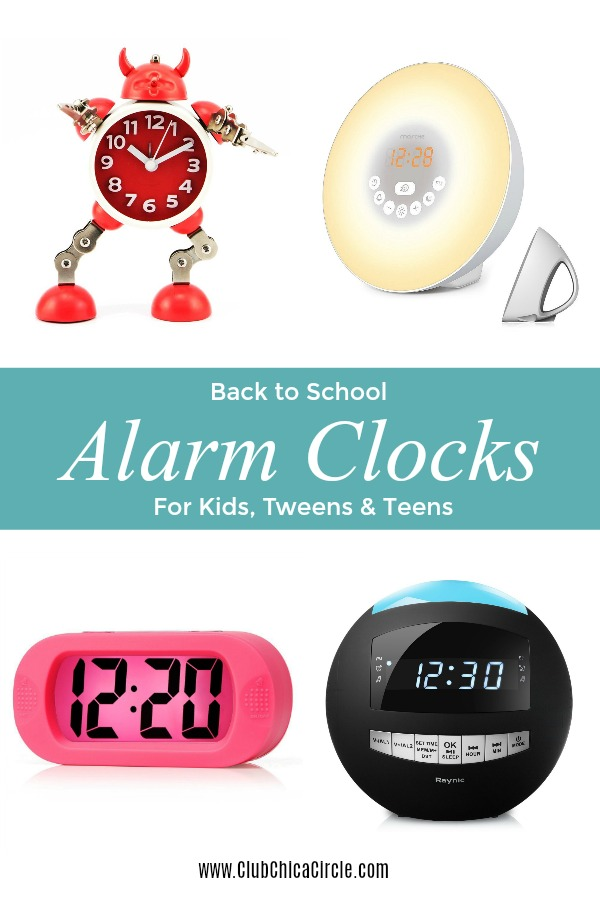 Alarm Clocks for Kids