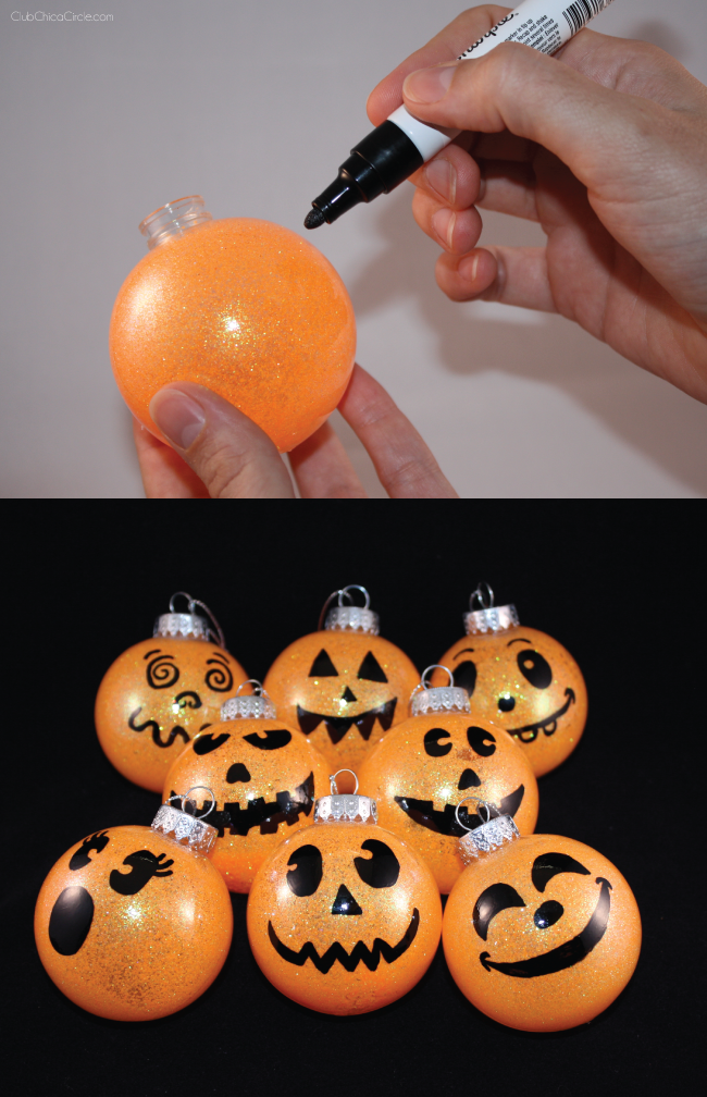 Jack-O-Lantern-Ornaments-DIY-Spooky-Faces