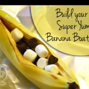 Build your own Banana Boats- The Perfect Party Treat (Indoors & Out)