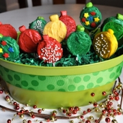Festive Holiday Cookie Pops