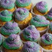 King Cake for Mardi Gras with a Sweet Potato Twist