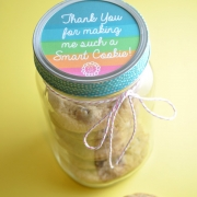 Be a Smart Cookie with this Homemade Teacher Appreciation Gift
