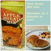 Turn Bread Mix into Decadent Pancakes in 5 Minutes or Less