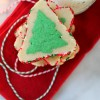Easy 2-Layer Holiday Tree Sugar Cookies