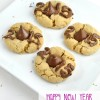 Happy New Year Peanut Blossom Cookies