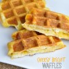 Cheesy Biscuit Waffles
