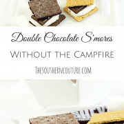 Double Chocolate S'mores without the Campfire