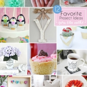 12 Easy Craft and Recipe Ideas #MondayFundayParty