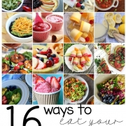 16 Yummy Ways to Eat Your Fruits & Vegetables #MondayFundayParty