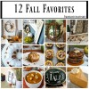 12 Fall Favorite DIY and Recipe Ideas #MondayFundayParty