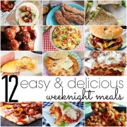 12 Easy & Delicious Weeknight Meal Recipe Ideas