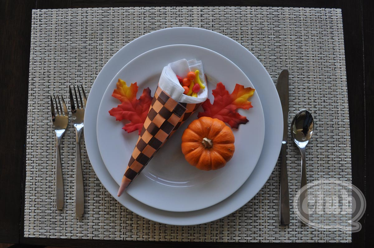 craft ideas for thanksgiving table cornucopia thanksgiving table setting craft diy 6249