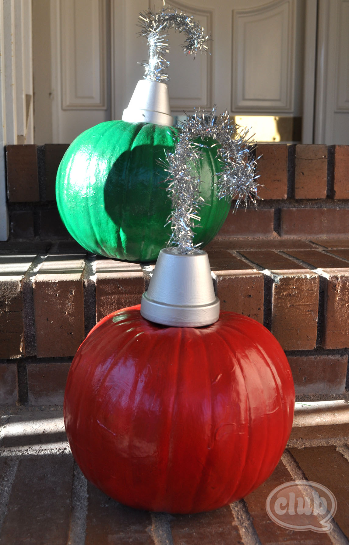 for - Decorating Pumpkins For Christmas Ideas
