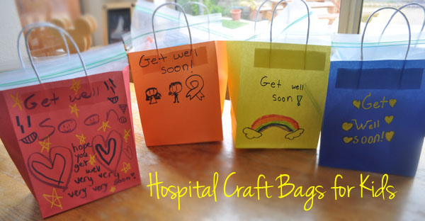 Tween birthday party for charity craft activity bags for for Crafts to donate to charity