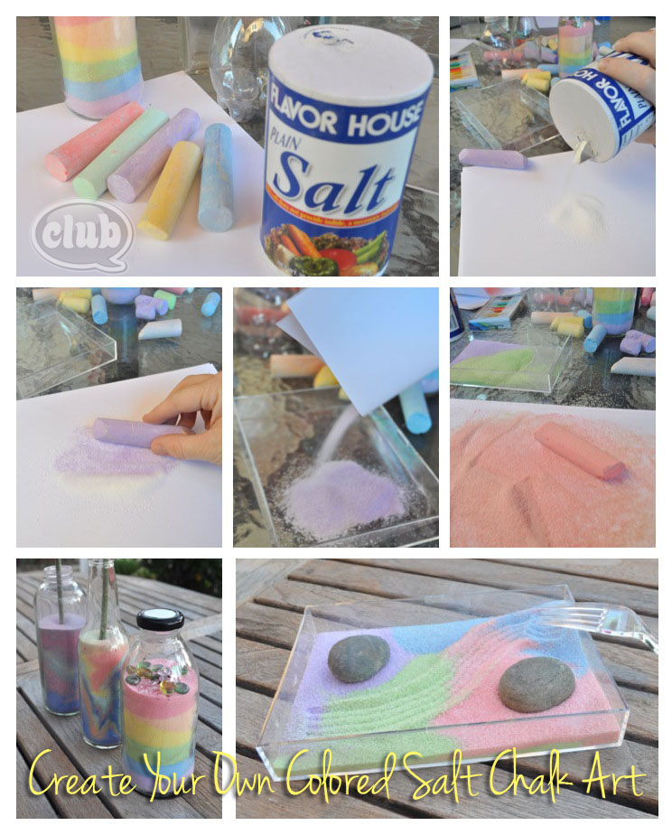 In 3 Easy Steps You Can Make Your Won Rainbow Of Colors To Fill A Plastic Or Glass Container