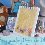 Easy Jewelry Organizer DIY